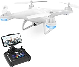 Holy Stone Drone with Camera for Adults Kids - FPV Drones with 720P HD 120° FOV Camera RC Quadcopter Remote Control Helicopter with Altitude Hold, Headless Mode and 3D Flips