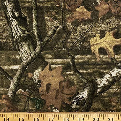 Cotton Spandex Jersey Knit - Mossy Oak Break-up Mini Infinity - Camo Fabric by The Yard