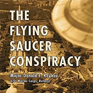 The Flying Saucer Conspiracy audiobook cover art