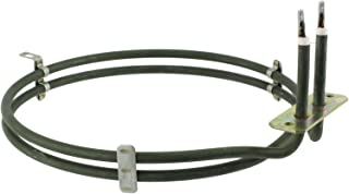 Spares2go 2 Turn Heater Element For Smeg Fan Oven / Cooker 2000W
