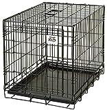 Pet Lodge Small Wire Single Door Dog Crate Small Wire Single Door Crate, Great for Pets Up to 30lbs (Item No. WCSML)
