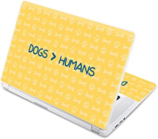 "MightySkins Skin Compatible with Acer Chromebook 15 15.6"" (2017) - Dogs Over Humans 