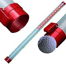 SHENGYANG, 4 stuks, 90 cm golfbal retriever, kan 23 ballen bevatten, balshager met visueel venster en schaal-rood