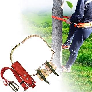 GBHJJ klättra träd artefakt, rostfritt stål klättring halkfri träfot-spänne elektriker, rostskydd, slitstark, lätt att plö...