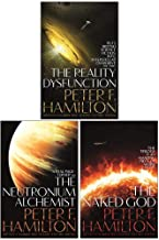 Nights Dawn Trilogy 3 Books Collection Set By Peter F. Hamilton (The Reality Dysfunction, The Neutronium Alchemist, The Naked God)