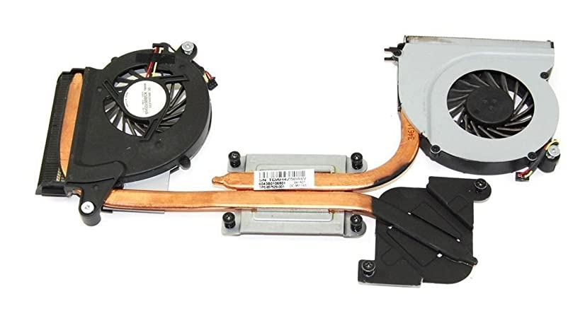 New CPU Cooling Cooler Fan with Heatsink Replacement for HP Envy 14 14T Series, 608378-001 KSB05105HA