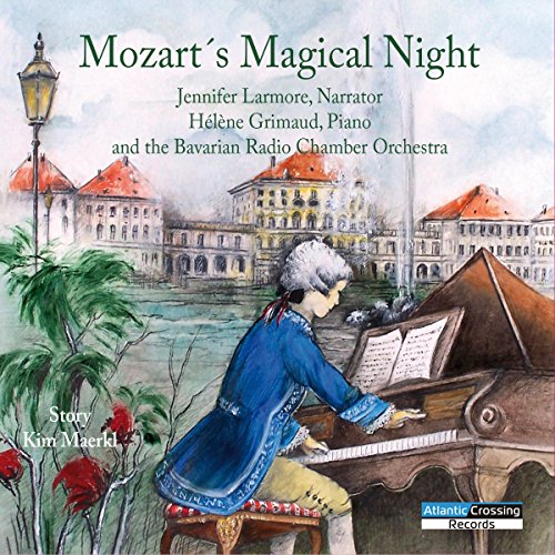 Mozart's Magical Night audiobook cover art