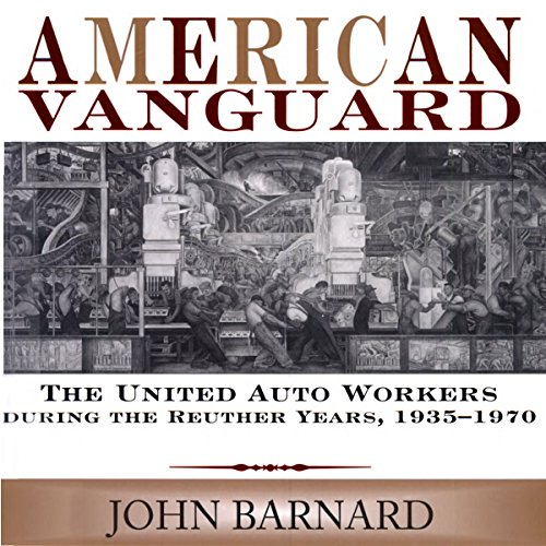 American Vanguard audiobook cover art