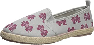 FOCO NCAA Womens NCAA Espadrille Canvas Shoe - Womens