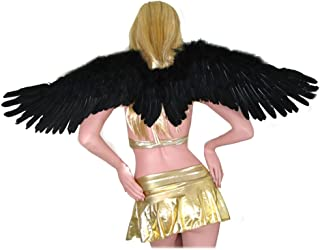 (TM Large Feather Halloween Angel Wings 3 Colors Black, White, Red