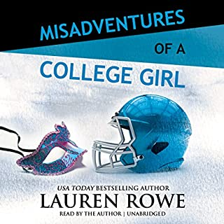 Misadventures of a College Girl audiobook cover art