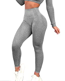 FITTOO Women�s Seamless Leggings Ankle Yoga Pants Tummy Control Running Workout Tights
