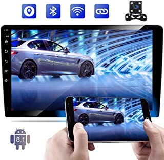 Double Din Car Stereo 10 Inch Touch Screen Android Car Radio Bluetooth GPS Navigation Head Unit Support WiFi/USB/SD/Mirror...