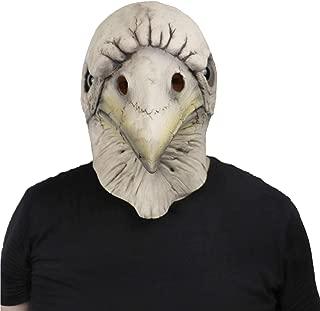 ifkoo Bird Head Skeleton Mask Novelty Halloween Costume Party Latex Skull Crow Mask Plague Doctor Mask