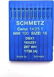 10PK Schmetz 15/x 1/aghi per macchina da cucire universale/ /Dimensioni # 100//16