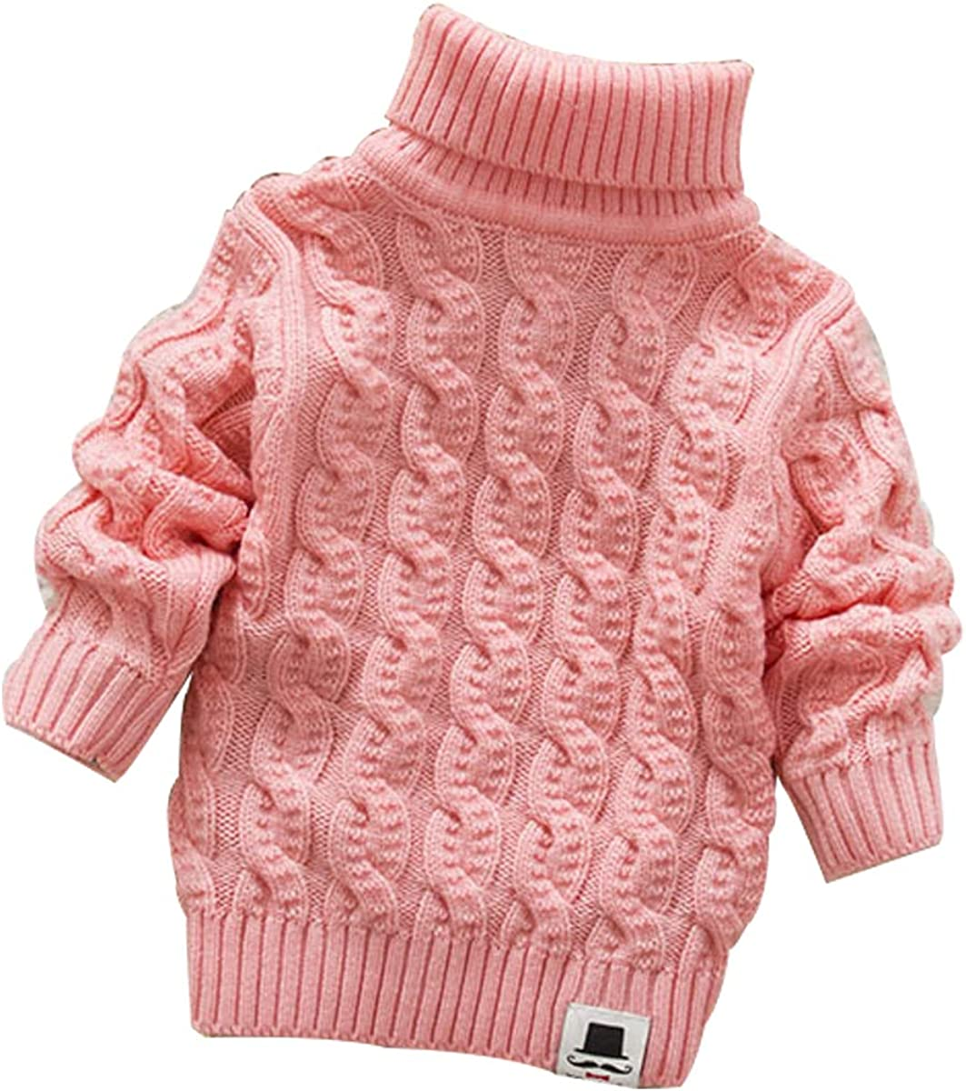 Free shipping on posting reviews MODNTOGA Baby Boys Outlet sale feature Girls Sweaters Soft Knit Turtleneck War Cable