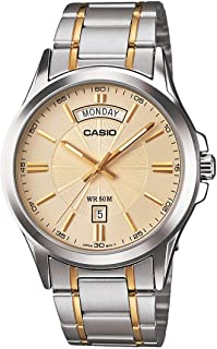 Casio Casual Watch Analog Display for Men MTP-1381G-9A