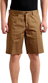 Men's Brown Stretch Casual Shorts