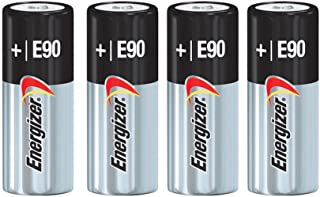 Energizer E90 Alkaline Batteries, 1.5V, LR1 N Size (Pack of 4)