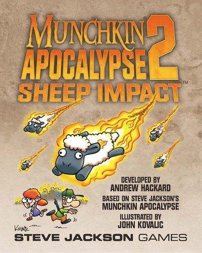 Steve Jackson Games SJG01504 - Munchkin Apocalypse 2 - Sheep Impact, Kartenspiel