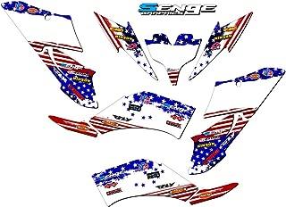 Senge Graphics kit compatible with Yamaha All Years Raptor 250, Merica USA Graphics kit