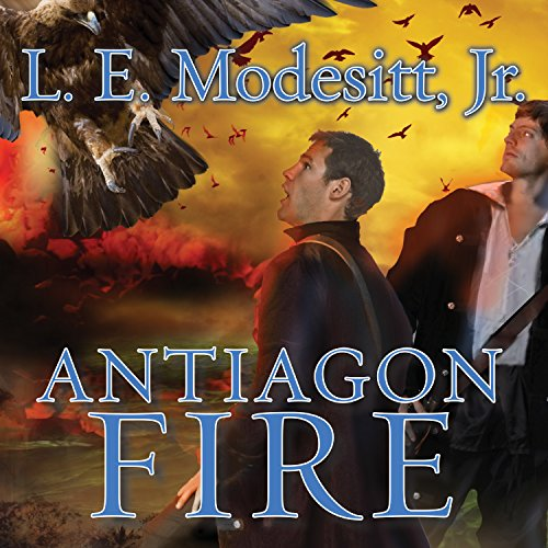 Antiagon Fire audiobook cover art