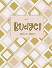 Budget Book Monthly Bill Organizer: 12 Month Budget Planner Book, Weekly Expense Tracker Bill Organizer Notebook Business Money Personal Finance Journal Planning Workbook