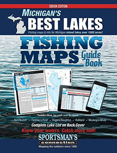 muskegon lake fishing map Michigan S Best Lakes Fishing Maps Guide Book Ebook Connection Sportsman S Billig Jim Amazon In Kindle Store muskegon lake fishing map