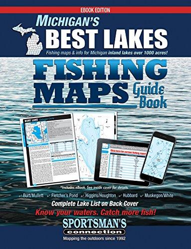 higgins lake fishing map Michigan S Best Lakes Fishing Maps Guide Book Ebook Connection higgins lake fishing map