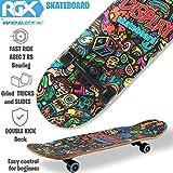 Zoom IMG-1 wellife skateboard completo rgx in