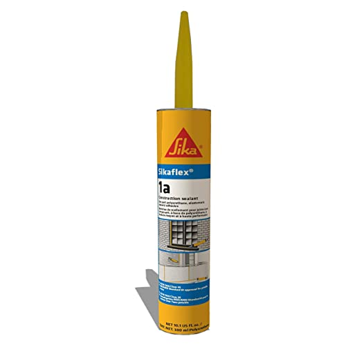Sikaflex 1a Polyurethane Sealant, 10 1 fl  oz  Cartridge, Limestone