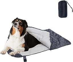 Cheerhunting Dog Sleeping Bag Waterproof Travel Large Portable Dog Bed with Storage Bag for Indoor Outdoor Warm Camping Hi...