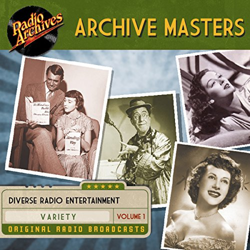 Archive Masters, Volume 1 audiobook cover art