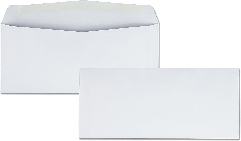 Quality Park 90020 Briefumschläge, 10 x 24 cm, 500 Stück, Weiß Umschläge 4-1 8  x 9-1 2  Weiß Wove B000DZA01Q | Zarte