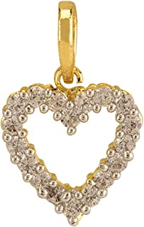 Best gold heart pendant with chain Reviews