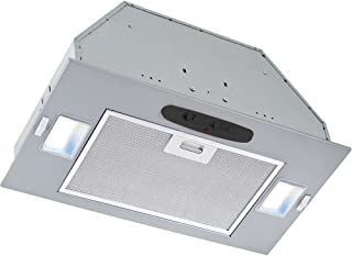 Broan-Nutone PME300 Powder-Coated Power Pack Range Hood Insert, Exhaust Fan and Light Combo for Over Kitchen Stove, ENERGY STAR Certified, Silver, 0.5 Son