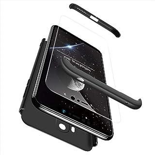 Xiaomi Pocophone F1 Case, EabHulie Hybrid 3 in 1 Combination Protection Hard PC Matte Finish Anti-Scratch Anti-slip Case C...