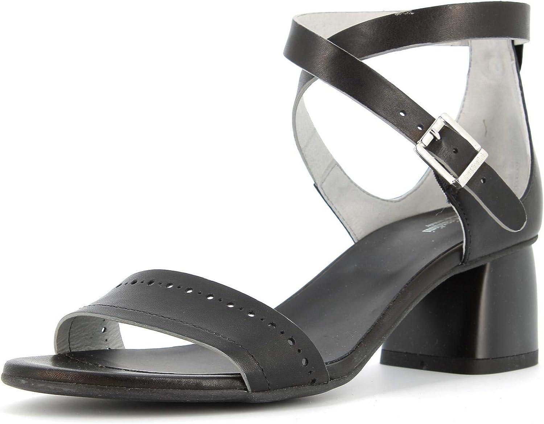 black GIARDINI women's shoes low-heeled sandals P908190D   100 size 36 Black