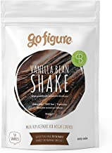 GoFigure Meal Replacement Shake with Patented SlimBiomeA Weight Management Ingredient Vanilla Bean Prebiotic Fibre 14 Meals 205 Calories Per Serving 700 Gram Pouch Estimated Price : £ 22,50
