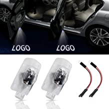 URSTOUD LED Car Door Logo Light Courtesy Projector Laser Welcome Lights 3D Ghost Shadow Light Lamps Accessories The Replac...