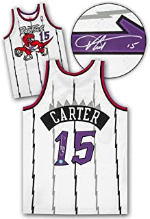 Autographed Vince Carter Jersey - Mitchell & Ness Retro - Autographed NBA Jerseys