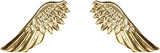 Vintage Angel Wings Metallic Shirt Collar Tips Brooch