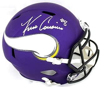 Kirk Cousins Minnesota Vikings Signed Autograph Full Size Speed Helmet Steiner Sports Certified