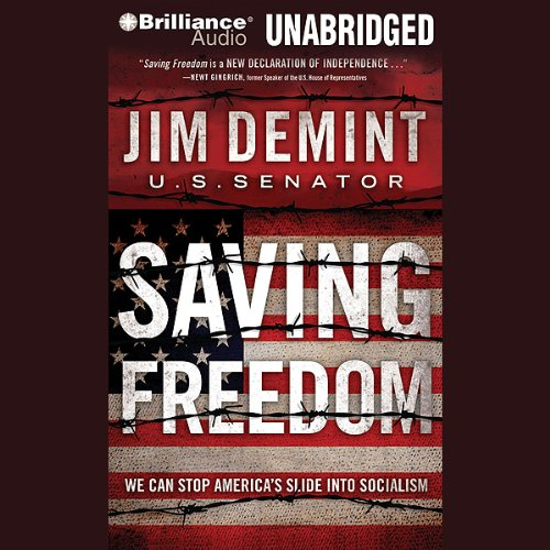 Saving Freedom audiobook cover art