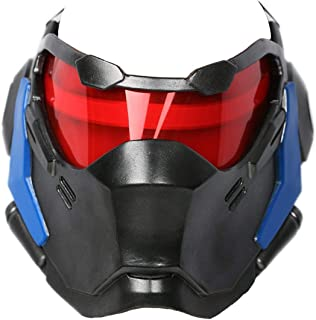 Soldier 76 Mask Game Cosplay Props Helmet Halloween Party Cosplay Weapon