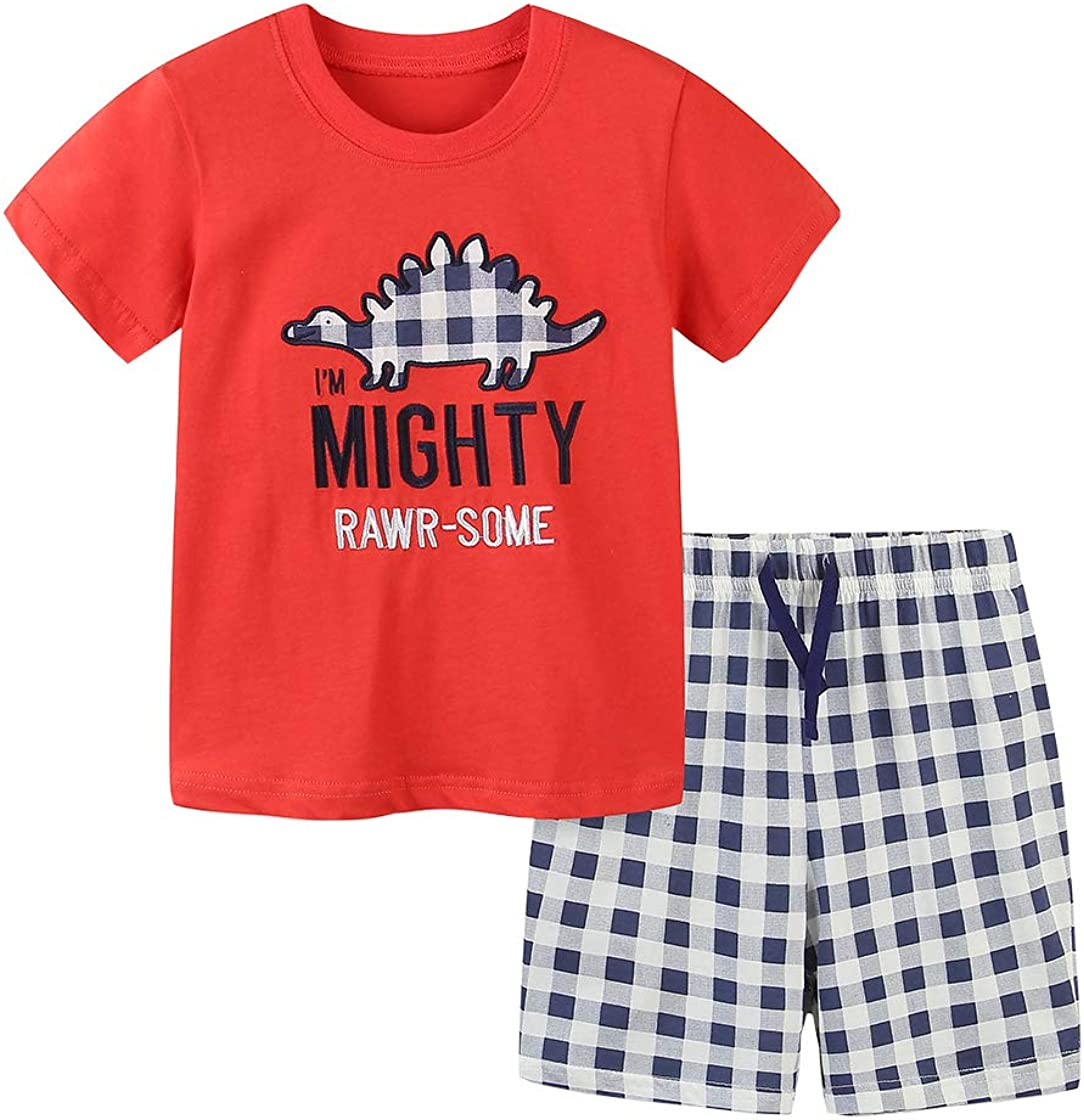 Urtrend discount Little Boys' Baby Toddler T-Shirt Cotton Kids Sho Summer Safety and trust
