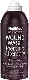 NeilMed NeilCleanse Piercing Aftercare, Full Stream, 6 Fluid Ounce