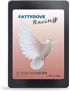 FATTYDOVE 内蔵式240GB SSD 2.5インチ sata 3 ssd デスクトップパソコン/ノートパソコンに対応可能厚さ7mm 5年保証付き (SSD-240GB)