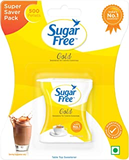 Sugar Free Gold Low Calorie Sweetener Tablets (Sugar Substitute) - 500 Pellets