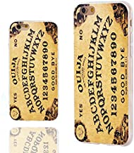iPhone 6s Plus Case,iPhone 6 Plus Case,ChiChiC 360 Full Protective Shockproof Slim Soft TPU Art Design Cover Cases for iPhone 6 6s Plus 5.5,Funny Yellow Ouija Board